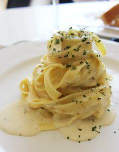 Creamy Fettuccini With Herbs