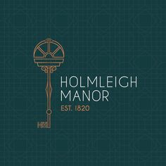 """Marketing Agency on Instagram: """"We recently designed the logo for a brand new, charming boutique B&B, Holmleigh Manor, which will be opening soon close to us in…"""" B & B, Hollywood, Brand New, Charmed, Marketing, Boutique, Logo, Instagram, Design"""
