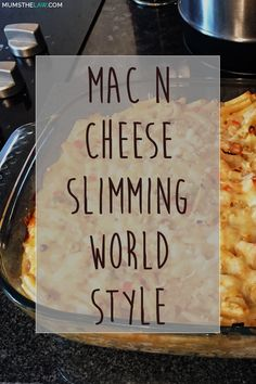 MAC N CHEESE SLIMMIN