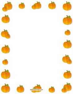 Printable pumpkin stationery and writing paper. Free PDF downloads at http://stationerytree.com/download/pumpkin-stationery/.