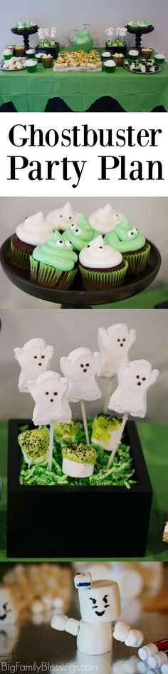 Host a kid-friendly Ghostbusters Party. 7 fun activities, plus food and decor ideas!   #CatchMoreData #Ghostbusters #ad