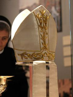 Mitre of the Bishop of Rome.