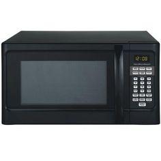 Hamilton Beach 1.1-cu ft Digital Microwave, Black