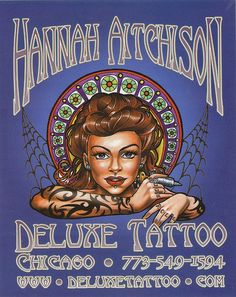 Hannah Aitchison - Deluxe Tattoo - Studio by HeadOvMetal, via Flickr