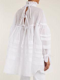 Fashion Details, Fashion Design, Fashion Trends, Lady Like, Look Street Style, Moda Chic, Yohji Yamamoto, White Shirts, White Fashion