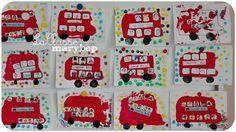 Bus à impériale Londres - Maternelle . La Classe de Marybop -