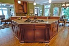"""large open kitchen images with center island 