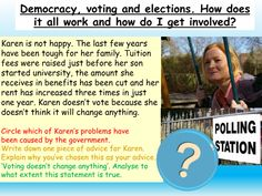 Democracy +Voting : British Values Citizenship Lessons, British Values, Interactive Board, Powerpoint Lesson, Character Education, How Do I Get, Political Party, Marriage Advice, Life Skills