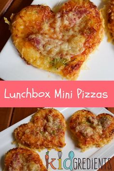 Yummy lunchbox perfect mini pizzas! Freezer friendly, kid friendly and delicious!