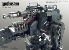 http://www.artstation.com/artwork/wolfenstein-heavy-robot