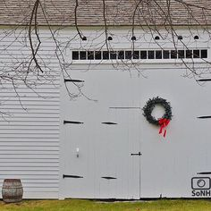 New Hampshire  @black.bird.farm 11.29.15  C o n g r a t u l a t i o n s  Please check out the galleries of our featured photographers.  Follow your favorites and the people who inspire you!  #scenesofNH #oldbarns #wreath #happyholidays #backroads #whiteonwhite  #nhgram #freshairandfreedom  #igersnh #newhampshire  #explorenh #visitnh  #gonh #igersnewengland #igersusa