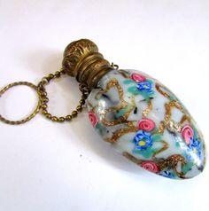 Antique Murano Aventurine Millefiori ART Glass Perfume Franchini Salviati ERA   eBay