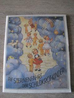 """1 of 4: Top Zustand*Schildkröt Puppen Buch """"Die Sternenfahrt der Schildkröt-Kinder"""""""