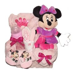 Cos cadou Minnie Minnie Mouse, Baby Shower, Disney Characters, Handmade, Baby Girl Pictures, Baby Girls, Pictures Of Babies, Bebe, Babyshower