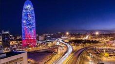 Con esta bonita foto os damos las buenas noches Http://blog.olecar.es encontraréis más información sobre reservas y consejos. #olecar #alquiler coches barcelona #alquiler deportivo barcelona