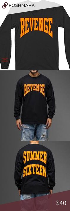 d730026c80da Revenge Summer Sixteen Drake Tour Merch Will update pictures- washed - good  condition Gildan Shirts Tees - Long Sleeve
