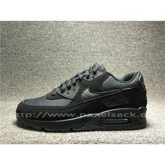 Kjøpe Billig Menn Nike Air Svart Sko på Menn Nike Air Max 90 i butikken Air Max Sneakers, All Black Sneakers, Sneakers Nike, Air Max 1, Nike Air Max, Beige, Shoes, Fashion, Nike Tennis