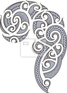 Desenho maori