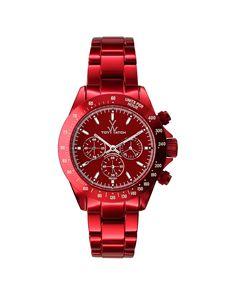 """Toywatch Women's """"Metallic"""" Watch is on Rue. Shop it now."""