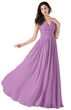 f7d8bab55335 ColsBM Alana - Orchid Bridesmaid Dresses. Modest Bridesmaid DressesLime  Green ...