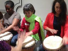 London African Drumming workshop fun!