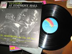 Louis Armstrong And The All Stars ITALY 1978 Lp near mint