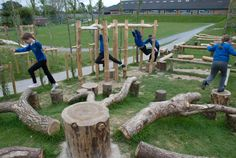 Newton Abbot School - Playground Build & Design | Natural Child Play | Earth Wrights Ltd