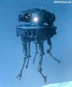 Star Wars: Imperial Probe Droid, Voll bewegliche Deluxe-Figur ... http://spaceart.de/produkte/sw016.php