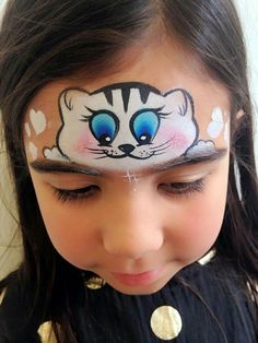 62 Trendy Ideas For Cars Disney Painting Birthday Parties Animal Face Paintings, Animal Faces, Kitty Face Paint, Cat Face, Face Painting Designs, Body Painting, Christmas Face Painting, Cheek Art, Disney Paintings