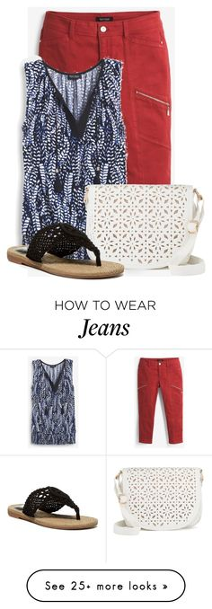 """""""Untitled #18345"""" by nanette-253 on Polyvore featuring White House Black Market, Under One Sky and MIA"""
