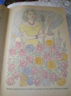 Greer Garson Coloring Book--1944 (05/26/2013)