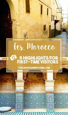 Five things you must absolutely see and do in Morocco's former imperial city toeuropeandbeyond... #travel #Morocco