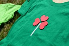 Isn't this T-shirt adorable?!?  10 MORE!! St. Patrick's Day Craft Ideas for Kids