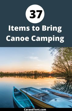 Find out what you need to bring when you go canoe camping. #canoeing #canoes #outdoors #camping Canoe Camping, Canoe And Kayak, Diy Camping, Camping And Hiking, Camping Ideas, Backpacking, Packing Lists, Travel Packing, Travel Tips