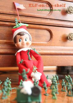 25 Ideas for Christmas Fun with your Elf-on-the-Shelf! - Busy Kids Happy Mom