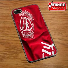 Arsenal Jersey IPHONE 4 | 4S COVER CASE
