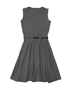 a20d60f4ba2c Papaval Girls Skater Kids Sleeveless Party Fit Flare Belted Summer Dress  Ages 3-14 Years