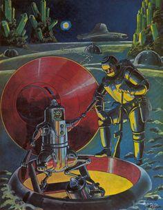 The Vault of Retro Sci-Fi — humanoidhistory:   Frank R. Paul artwork on the...