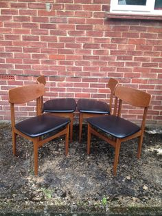 Nathan Teak Dining Chairs 1970u0027s Vintage. Just one of the items Mount Skippett Vintage has sold recently & G Plan Retro Coffee Table 1960-70u0027s Solid Teak table with original ...