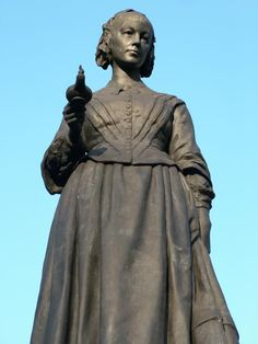 The statue of Florence Nightingale can be found in Waterloo Place, London. It is the work of the sculptor, Arthur George Walker