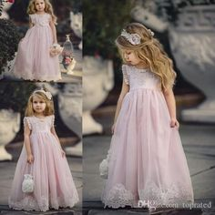 Light Pink Dress for Wedding Inspirational Lovely Light Pink Flower Girl Dresses Special Occasion for Weddings Kids Pageant Gowns A Line Lace Appliqued First Munion Dress Flower Girl Sash Girls Bridesmaid Dresses, Girls Pageant Dresses, Pageant Gowns, Best Wedding Dresses, Dressy Dresses, Long Dresses, Dress Wedding, Trendy Wedding, Lavender Flower Girl Dress