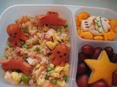 Let's Do Lunch: Under the Sea Bento Box