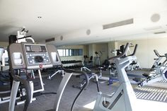 Gym and Fitness facilities at Lagoon Beach Hotel Fitness Facilities, Beach Hotels, Spa