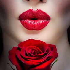 Kiss #Red Lips - #rouge #PANDORAvalentinescontest