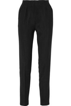 Pallas Thanatos high-rise cady tapered pants   NET-A-PORTER