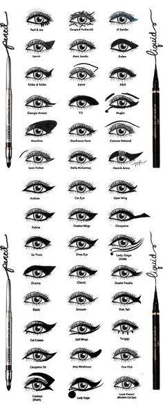 figure out the brow shape you want