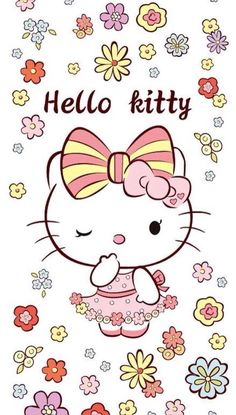 Wallpaper | Hello Kitty, Kawaii | Pinterest