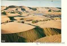 Postales: SAHARA ESPAÑOL.- ATARDECER DE LAS DUNAS - Foto 1 - 52617103