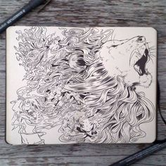 Blog: Inside the Sketchbook of Gabriel Picolo - Doodlers Anonymous