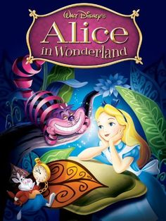 Alice in Wonderland - one of my favourite kids films! On the surface it seems crazy and random, but it's so deep and meaningful! Love it!